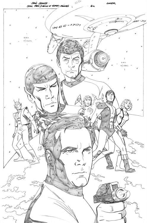 Star TrekLegion of SuperHeroes