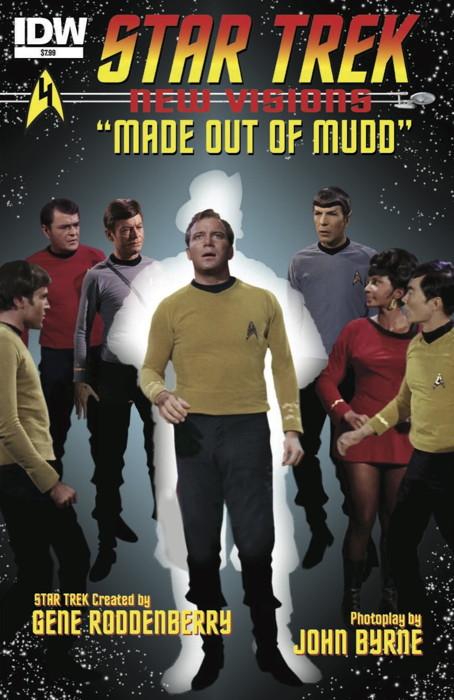 Star Trek New Visions TPB 2-1ST NM 2015 Stock Image