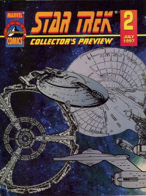Previews of Marvel Paramount Star Trek comics 1996-1997