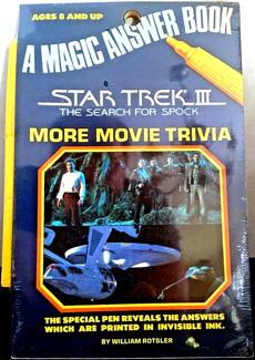 Star Trek Activity Books And Kits