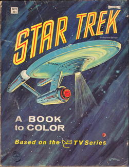 star trek a book to color the saalfield publishing co same as 9570 with some extra pages of art to color 112 pages - Star Trek Coloring Book