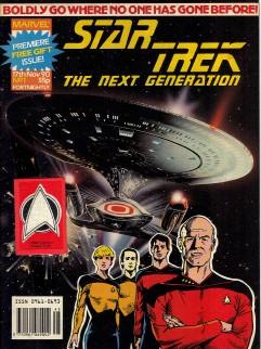 Image result for Marvel UK Star Trek: The next Generation #1