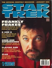 Nov 1996 STAR TREK MAGAZINE #21 SCRIBBLES