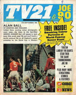TV21 & Joe 90 #1, 27 Sep 1969