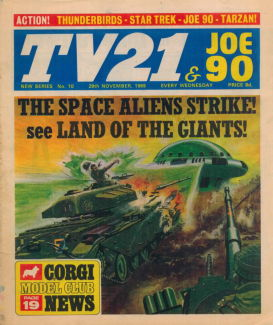 TV21 & Joe 90 #10, 29 Nov 1969