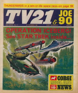 TV21 & Joe 90 #11, 6 Dec 1969