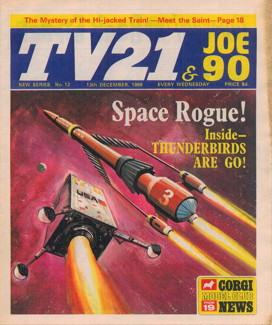 TV21 & Joe 90 #12, 13 Dec 1969
