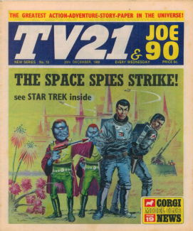 TV21 & Joe 90 #13, 20 Dec 1969