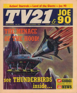 TV21 & Joe 90 #14, 27 Dec 1969
