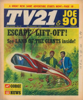 TV21 & Joe 90 #15, 3 Jan 1970
