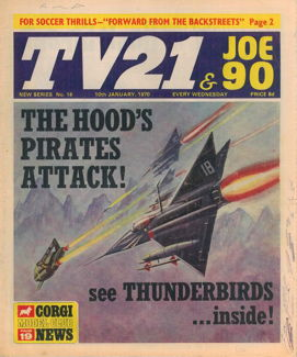 TV21 & Joe 90 #16, 10 Jan 1970