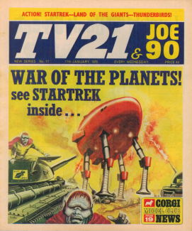 TV21 & Joe 90 #17, 17 Jan 1970