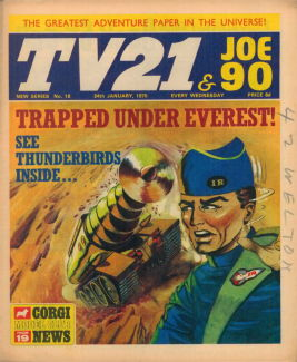 TV21 & Joe 90 #18, 24 Jan 1970