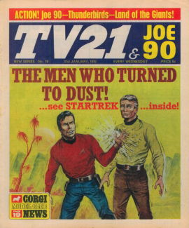 TV21 & Joe 90 #19, 31 Jan 1970