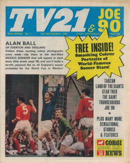TV21 & Joe 90 #1, 13 Sep 1969
