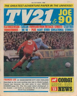 TV21 & Joe 90 #2, 4 Oct 1969