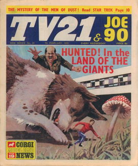 TV21 & Joe 90 #20, 7 Feb 1970