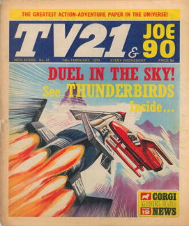 TV21 & Joe 90 #21, 14 Feb 1970