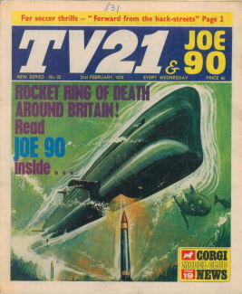 TV21 & Joe 90 #22, 21 Feb 1970