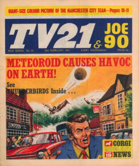 TV21 & Joe 90 #23, 28 Feb 1970