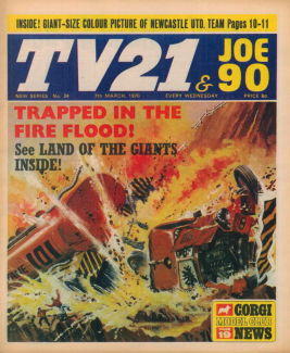 TV21 & Joe 90 #24, 7 Mar 1970