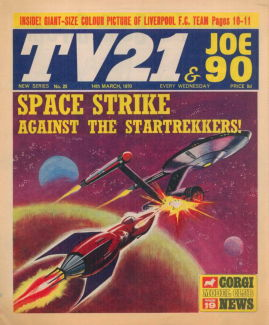 TV21 & Joe 90 #25, 14 Mar 1970