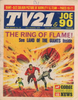 TV21 & Joe 90 #26, 21 Mar 1970
