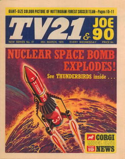 TV21 & Joe 90 #27, 28 Mar 1970