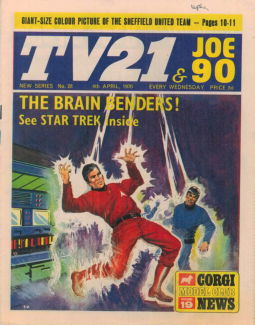 TV21 & Joe 90 #28, 4 Apr 1970