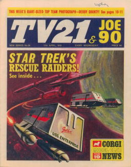 TV21 & Joe 90 #29, 11 Apr 1970