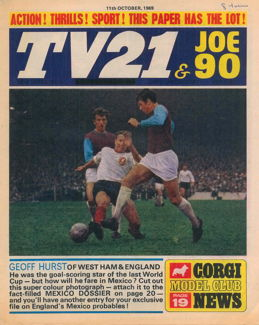 TV21 & Joe 90 #3, 11 Oct 1969