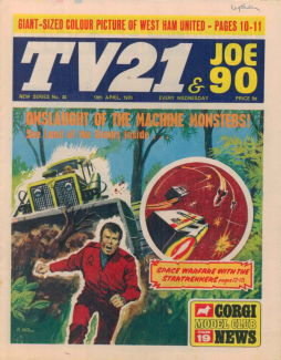 TV21 & Joe 90 #30, 18 Apr 1970