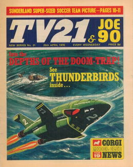TV21 & Joe 90 #31, 25 Apr 1970