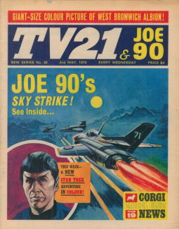 TV21 & Joe 90 #32, 2 May 1970