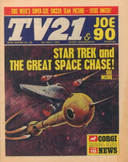 TV21 & Joe 90 #33, 9 May 1970
