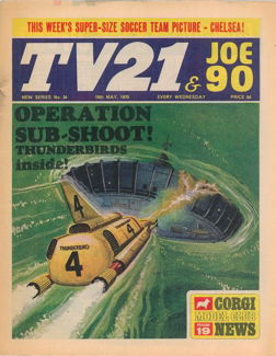 TV21 & Joe 90 #34, 16 May 1970