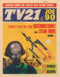 TV21 & Joe 90 #35, 23 May 1970