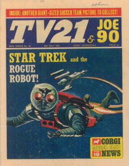 TV21 & Joe 90 #36, 30 May 1970