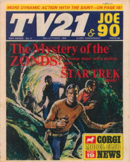 TV21 & Joe 90 #4, 18 Oct 1969