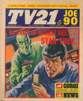 TV21 & Joe 90 #5, 25 Oct 1969