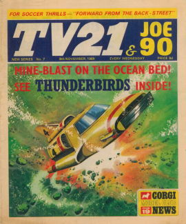 TV21 & Joe 90 #7, 8 Nov 1969