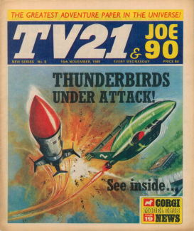 TV21 & Joe 90 #8, 15 Nov 1969