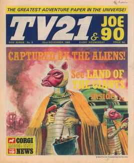 TV21 & Joe 90 #9, 22 Nov 1969