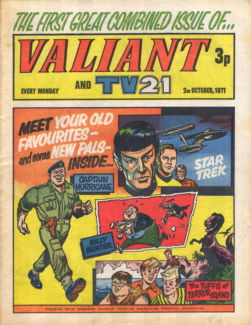 Valiant and TV21, 2 Oct 1971