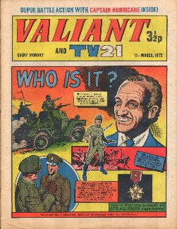 Valiant and TV21, 11 Mar 1972