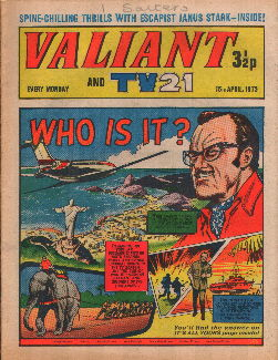 Valiant and TV21, 15 Apr 1972