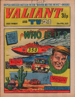 Valiant and TV21, 22 Apr 1972