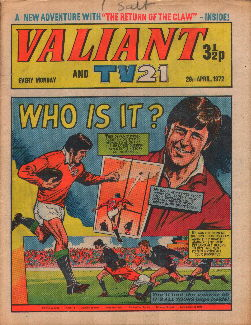Valiant and TV21, 29 Apr 1972