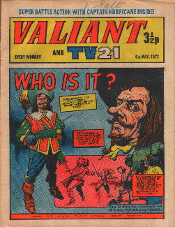 Valiant and TV21, 6 May 1972