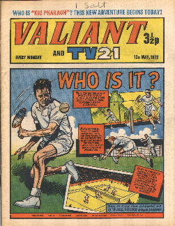 Valiant and TV21, 13 May 1972